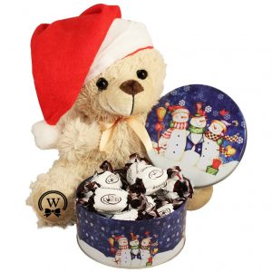 Christmas Treats with A Teddy Bear