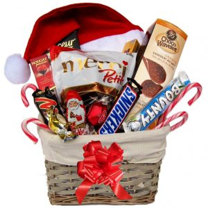 Christmas Treat Gift Basket