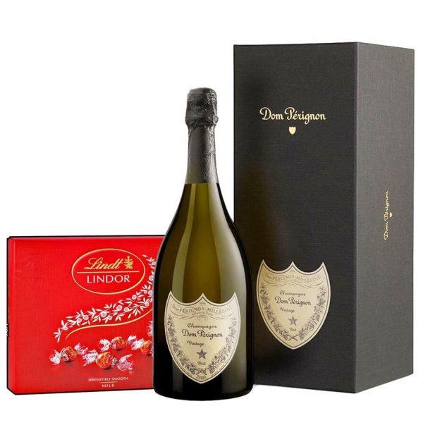 Dom Perignon & Lindor Bonbons Box