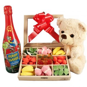Haribo Teddy and Kids Champagne* Christmas Kit