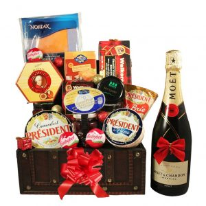 The Diplomat Treasure box – Gourmet Gift Basket