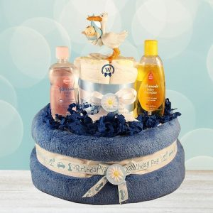Baby Boy Gift – Diaper Cake