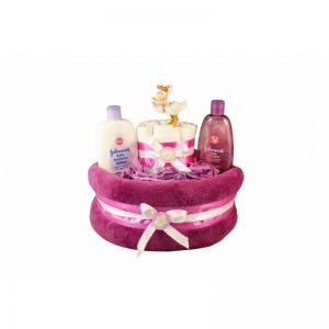 Baby Girl Gift – Diaper Cake