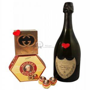Reaching Fifth Avenue – Dom Perignon & Gucci Gift Set
