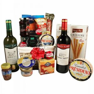 French Morning Sunrise – Wine & Cheese Gift Hamper