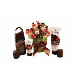 Chocolate Addiction – Sweet Spa Bouquet