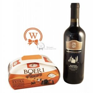 Classic Business Gift With Red Wine