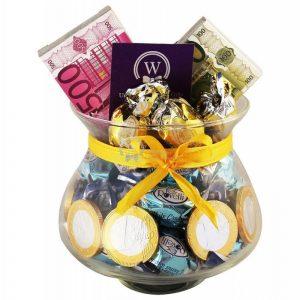 Chocolate Money Jar