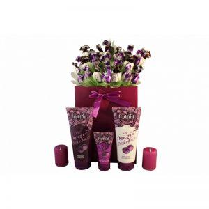 Deep Purple with Spa – Sweet Bouquet