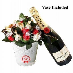 Classic Bouquet with Moet & Chandon Champagne