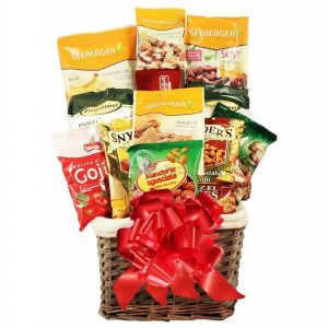Nuts About You – Healthy Gift Basket