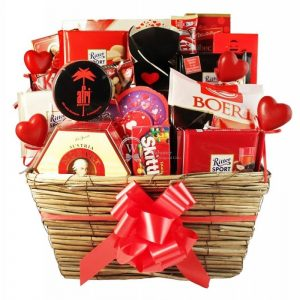 In the name of … Love – Chocolate Gift Basket