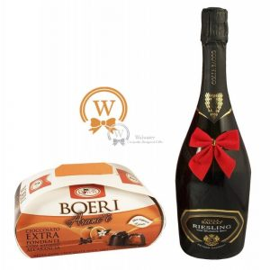 Classic Business Gift With Sparkling Wine