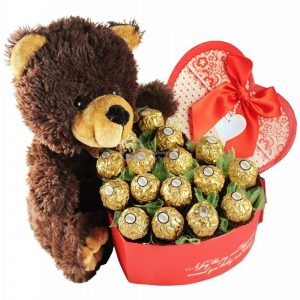 Classic Love – Ferrero Rocher Bouquet