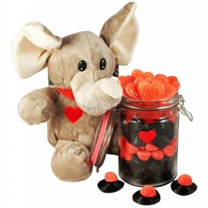Elephant Love Jar