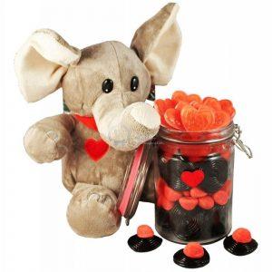Elephant Love Jar