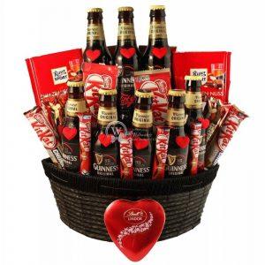Irish Love Story – Guinness Beer Gift Basket