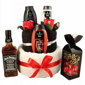 Jack, My Hero – Man Spa Towel Cake