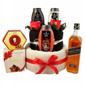 Johnnie, My Hero – Man Spa Towel Cake