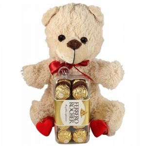 Love Is Wherever You Go – Chocolate & Teddy Gift