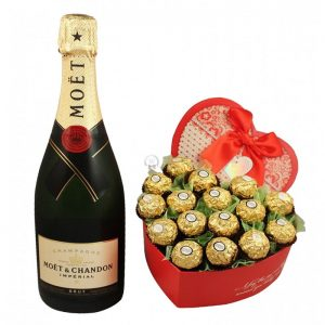 Pure Love Affection – Champagne Gift
