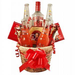 Temptations – Vodka Gift Basket