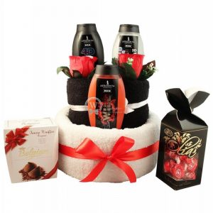 You Are My Hero – Man Spa Towel Cake