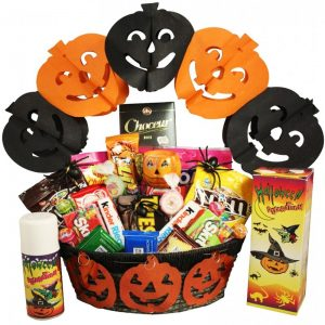 Kids Halloween Gift Basket