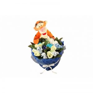 Tigger in a Basket Boy Clothing Bouquet