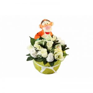 Tigger in a Basket Unisex Clothing Bouquet