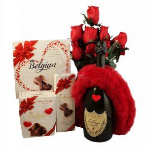 Top Romance – Dom Perignon Champagne Gift