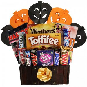 Treats Treasure Box – Halloween Gift Basket