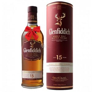 Glenfiddich Unique Solera Reserve 15 Year Single Malt Scotch 700ml
