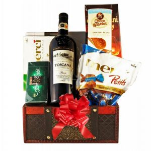 Music Box Gift Basket