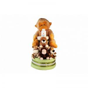 Zoo Diaper Cake XXL