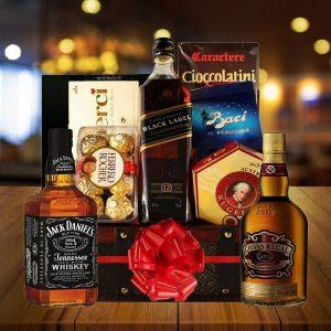 Send Bourbon Whiskey Gift Baskets Online