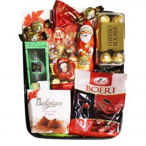 Christmas Chocolate Tray