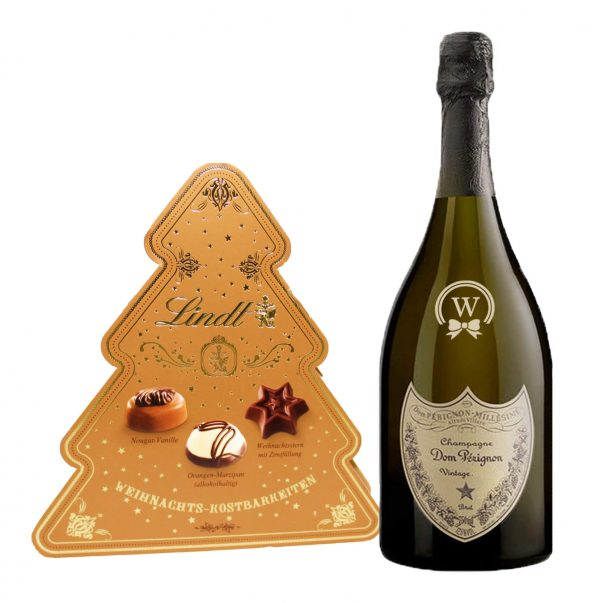 Christmas Dom Perignon and Lindt