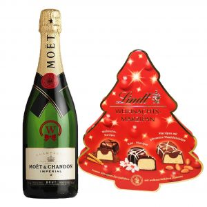 Christmas Moet Chandon & Lindt