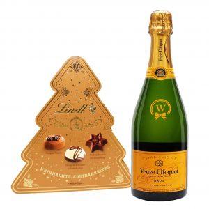 Christmas Veuve Clicquot & Lindt