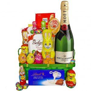Easter EggstraVaganza – Moet Easter Gift Basket